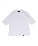 블랙파지(BLACK POSSE) HANBOK NECK STRING SHORT SLEEVE TEE (WHITE)