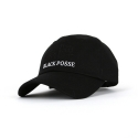 블랙파지(BLACK POSSE) MONOCHROME BALL CAP