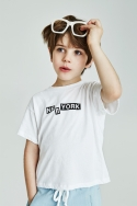 노앙(NOHANT) LOVE CITY NEWYORK T SHIRT KIDS WHITE