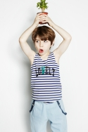 노앙(NOHANT) SIUSIU LONELY/LOVELY SLEEVELESS BLUE