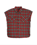 Sleeveless Shirts - Red Flannel