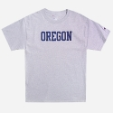 챔피온() CREW NECK 1/2 T-SHIRT OREGON (GREY)