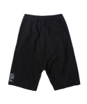 인사일런스(INSILENCE) CUTOFF BAGGY SHORTS (BLACK)