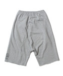인사일런스(INSILENCE) CUTOFF BAGGY SHORTS (GREY)