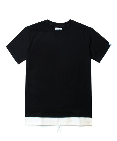 인사일런스_LAYERED TEE (BLACK)