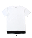 인사일런스(INSILENCE) LAYERED TEE (WHITE)