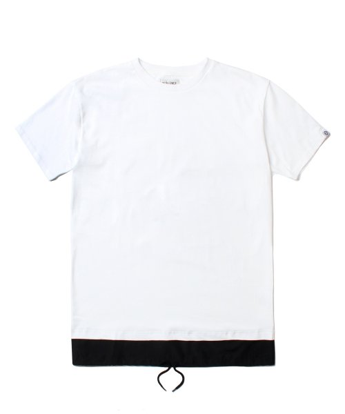 인사일런스_LAYERED TEE (WHITE)