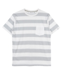 어반디타입(URBANDTYPE) Pocket Stripe T-Shirts_DT083