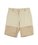 어반디타입(URBANDTYPE) Detail Two-Tone Shorts_SP027