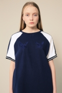 BEETLEBUM SOUVENIR T-SHIRT (NAVY)