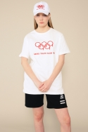 구일이(NINEONETWO) NINE YOUTH OLYMPIC T-SHIRT (WHITE)