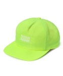 리타(LEATA) Fucking summer zip back 5 panel cap lime