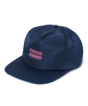 리타(LEATA) Fucking summer zip back 5 panel cap navy