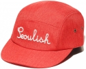 제니멀(ZANIMAL) SEOULISH CAMPCAP RED