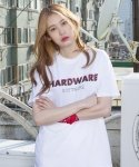 HARDWARE t-shirts(white)