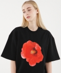 꼼파뇨(COMPAGNO) [1/2]Red Flower MTM black