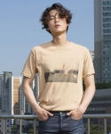 로에일(LOEIL) Digital Graphic t-shirts(beige)