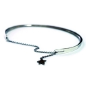 포프(POFF) SILVER ROUGH ANKLET