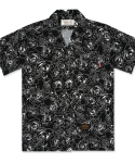 언더에어() Rose Aloha Shirt(U) - Black