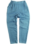러닝하이(RUNNING HIGH) [UNISEX] DENIM BANDING TROUSERS [SKY BLUE]