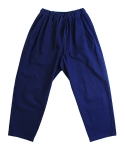 러닝하이(RUNNING HIGH) [UNISEX] LINEN UKATA TROUSERS [VIOLET BLUE]