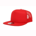 오토캡(OTTO CAP) 5 Panel Flat Visor Pro Mesh Back (Red)