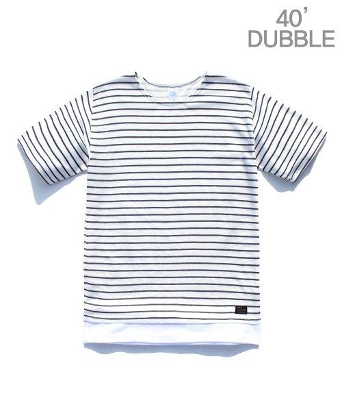 제멋_[제멋]Stripe 1/2 t-shirts black(2025)