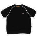 Towel short sleeve crewneck(black)