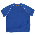 Towel short sleeve crewneck(blue)