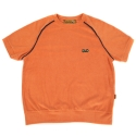 Towel short sleeve crewneck(orange)