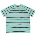 램배스트(LAMBAST) Stripe crewneck T-shirt(mint)