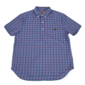 램배스트(LAMBAST) Gingham check shirt(blue)