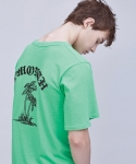 써틴먼스(13MONTH) 16 ss vacances t-shirt GREEN