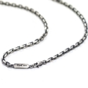 포프(POFF) ANGLED CHAIN SILVER NECKLACE