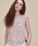 써틴먼스(13MONTH) 16 ss flower bustier-top PINK