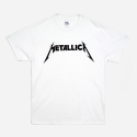 락아메리카(ROCK AMERICA) ROCK T SHIRTS (METALLICA WHITE)