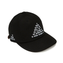 하운드빌(HOUND VILLE) ROLL UP ballcap black