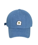 비아봉드비아(VIABON DE VIA) EGG BALL CAP (DENIM)