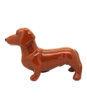 미미마끄(MIMIMAC) Dachshund MoneyBox Brown