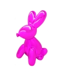 Balloon Rabbit MoneyBox Pink