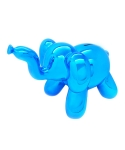 미미마끄(MIMIMAC) Balloon Elephant MoneyBox Blue