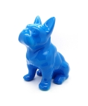 미미마끄(MIMIMAC) Sitting FrenchBulldog MoneyBox Blue