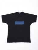 오픈오드(OPN ODD) OVER DYED FOOTBALL T (BLACK)