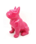 미미마끄(MIMIMAC) Sitting FrenchBulldog MoneyBox Pink