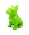 미미마끄(MIMIMAC) Sitting FrenchBulldog MoneyBox Green