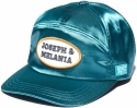 M&J SATIN CAMPCAP GREEN