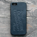 데몬하이드(DEMON HIDE) iPHONE 5/5S/SE LEATHER SKIN CASE (BLACK)