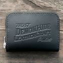 데몬하이드(DEMON HIDE) TRUST SMALL ZIP AROUND WALLET (BLACK)