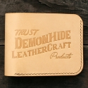 TRUST SIMPLE BI-FOLD WALLET (NATURAL)
