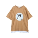 [주씨] ZOOicy 2016 S/S Black Cat (Beige)